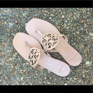 TORY BURCH Square Toe Miller Sandal